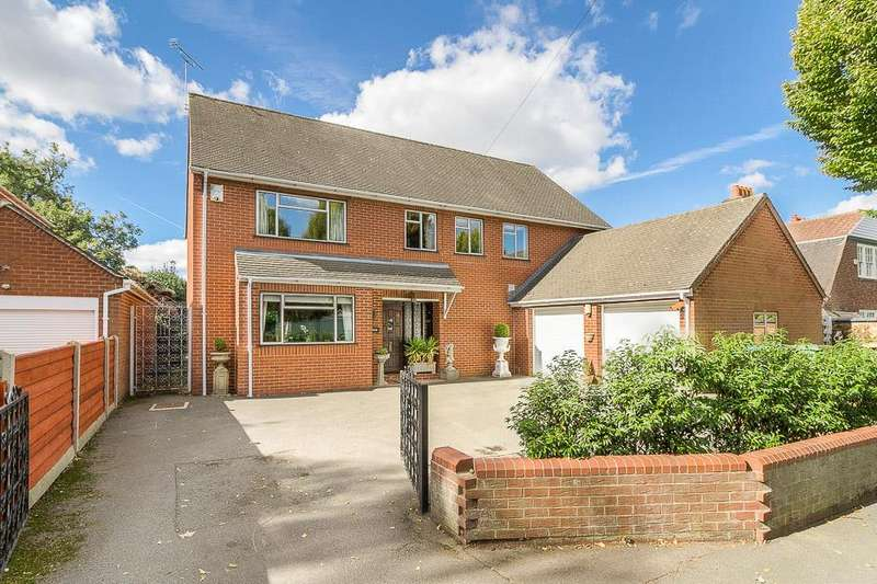 4 Bedrooms Detached House for sale in Moultrie Road, Rugby