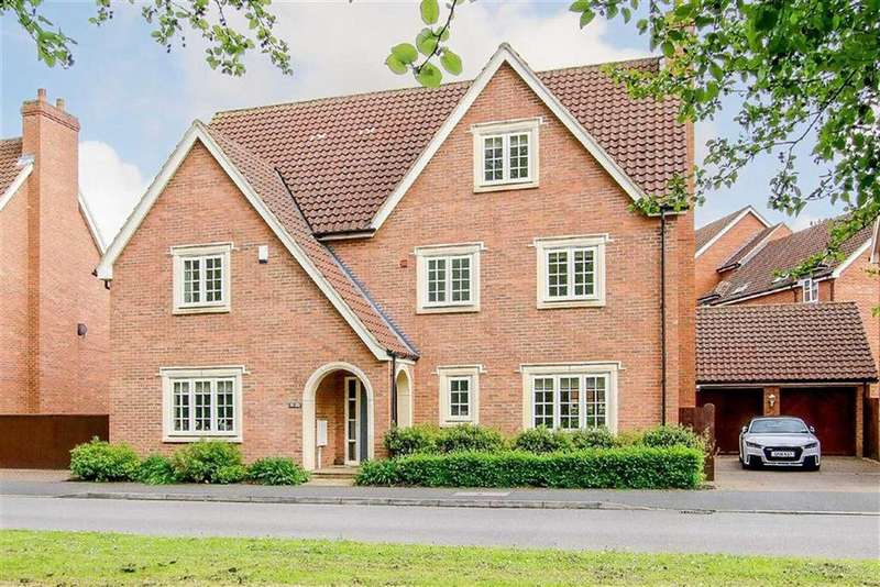 6 Bedrooms Detached House for sale in Woodall Close, Middleton, Milton Keynes