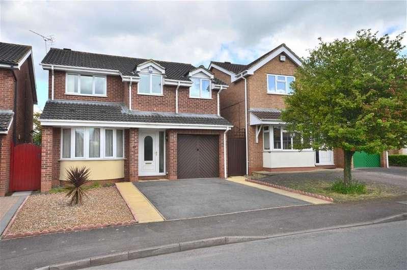 4 Bedrooms Detached House for sale in Broad Leys Road, Barnwood, Gloucester