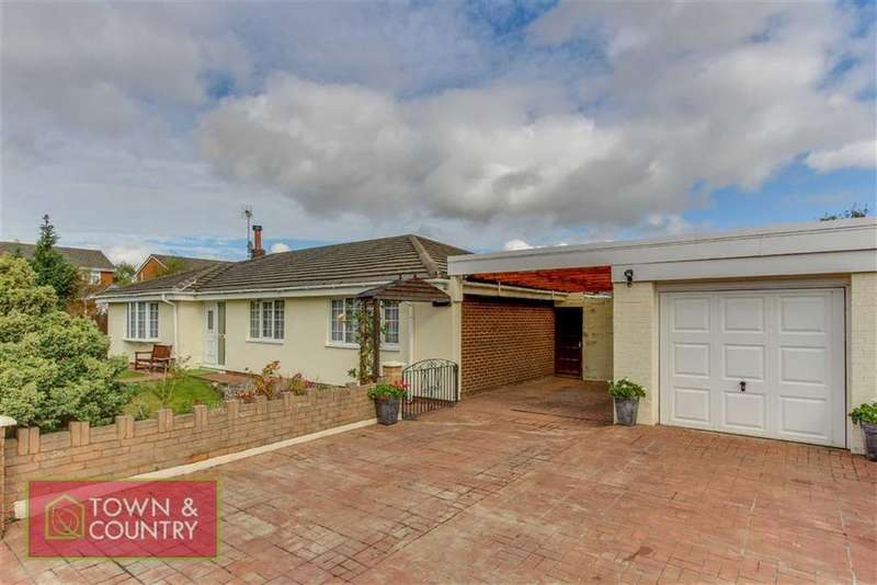 3 Bedrooms Detached Bungalow for sale in Llwyni Drive, Connah's Quay, Deeside, Flintshire