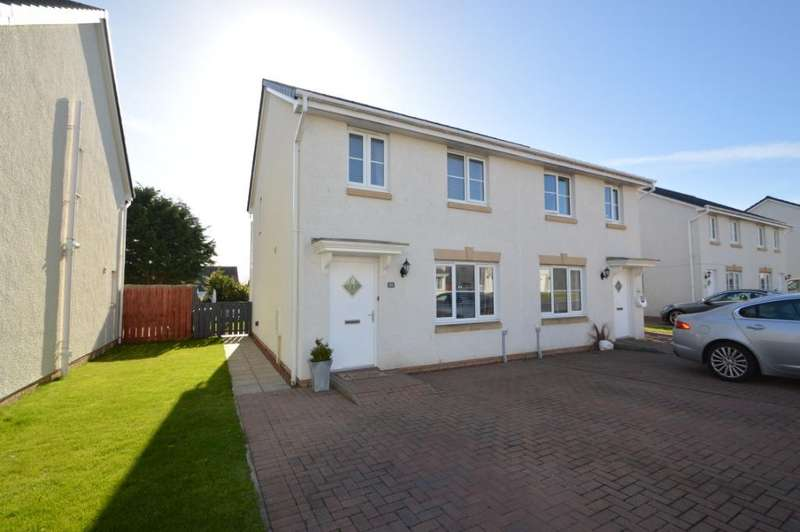 3 Bedrooms Semi Detached House for sale in Gooding Crescent, Stevenston, North Ayrshire, KA20 4AU