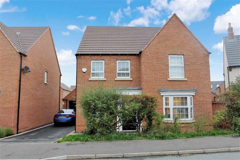 4 Bedrooms Detached House for sale in Millstone Lane, Queniborough, Leicester