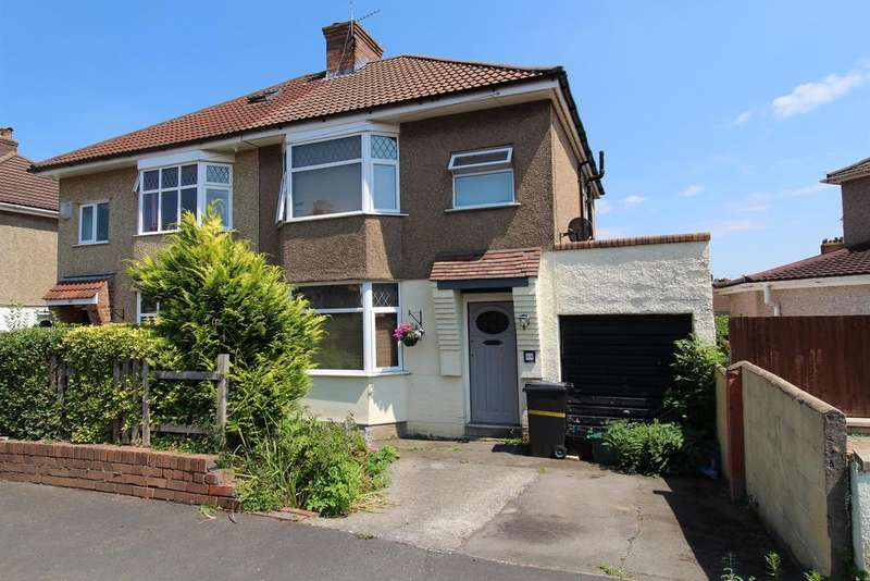 3 Bedrooms Semi Detached House for sale in Woodleigh Gardens , Whitchurch, Bristol, BS14 9JQ