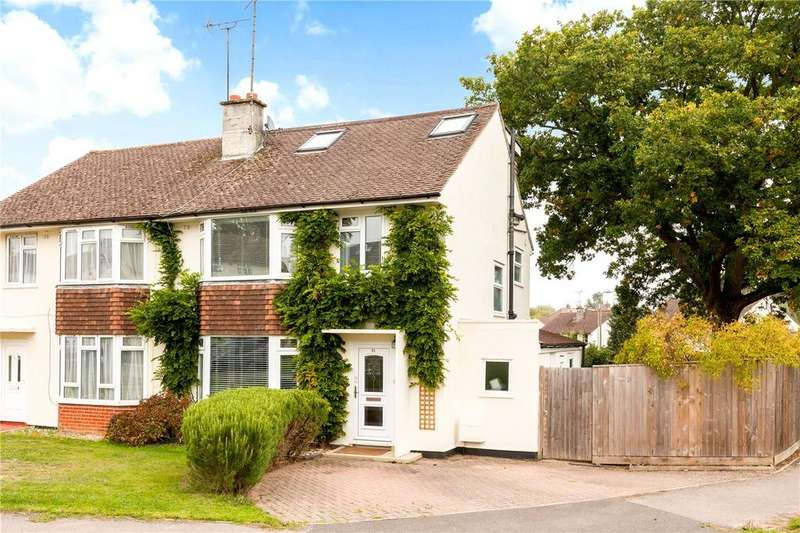 4 Bedrooms Semi Detached House for sale in Garford Crescent, Newbury, Berkshire, RG14