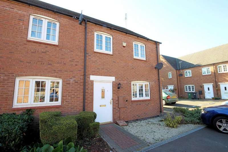 2 Bedrooms Town House for sale in Roman Close, Barrow Upon Soar