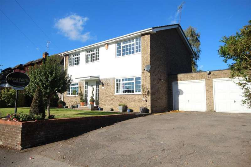 4 Bedrooms Detached House for sale in Western Avenue, Woodley, Reading