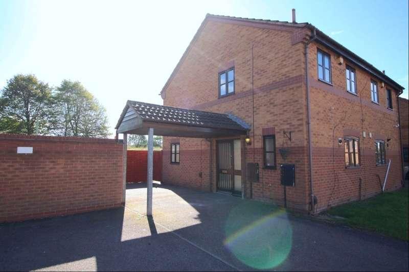 2 Bedrooms Semi Detached House for sale in Pinewood Close, Leicester, LE4