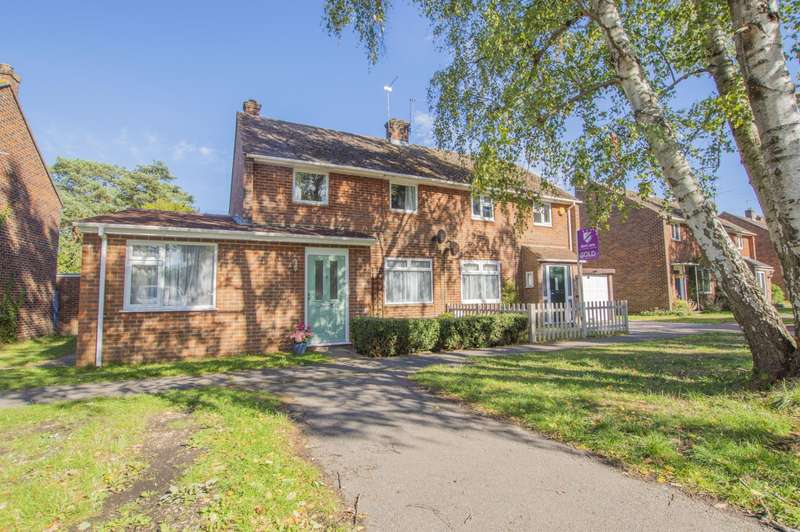 3 Bedrooms Semi Detached House for sale in Hollybush Lane, Burghfield Common, Reading, RG7