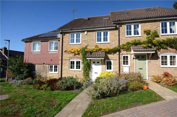 4 Bedrooms Terraced House for sale in Chislett Gardens, Sandhurst, Berkshire