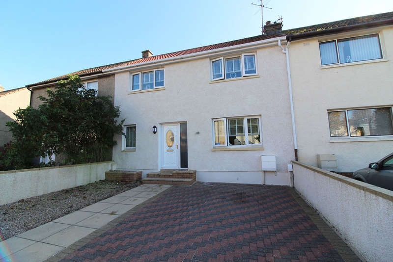 3 Bedrooms Terraced House for sale in Thornwood Avenue, Ayr, KA8