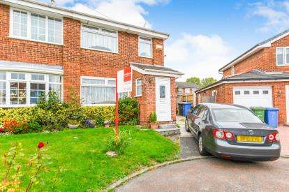 3 Bedrooms Semi Detached House for sale in Stirling Close, Woolston, Warrington, Cheshire