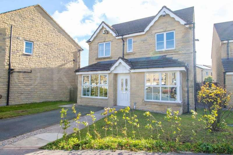 4 Bedrooms Detached House for sale in Yateholm Drive, Westwood Park, Bradford