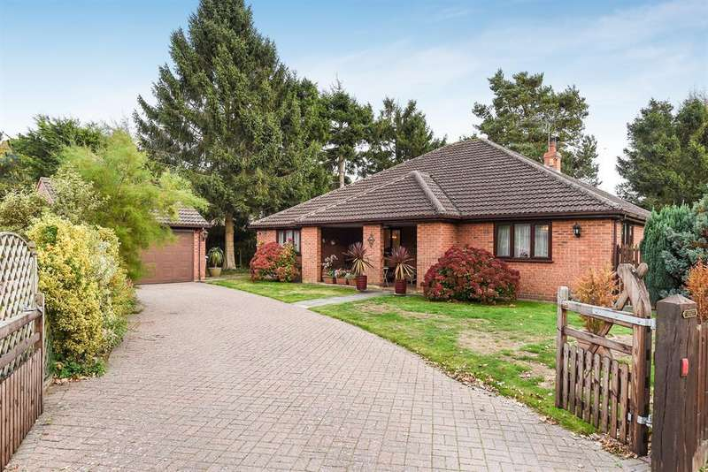 4 Bedrooms Detached Bungalow for sale in Green Lane, Woodhall Spa, Lincs, LN10 6QE