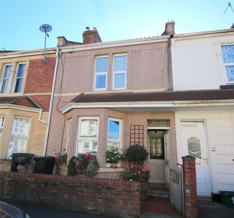 3 Bedrooms Terraced House for sale in Foxcote Road, Ashton, BRISTOL, BS3