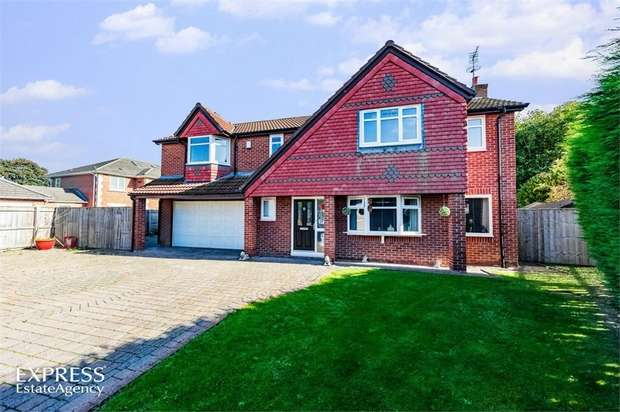 4 Bedrooms Detached House for sale in St Pauls Drive, Houghton le Spring, Tyne and Wear