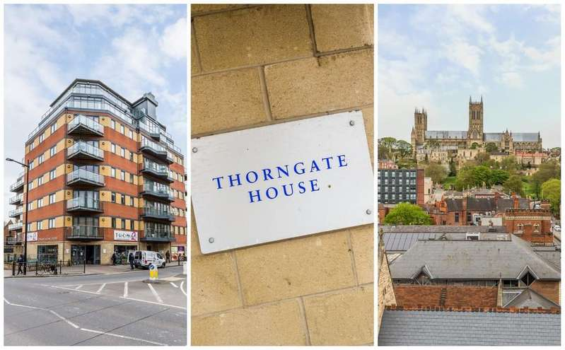 2 Bedrooms Apartment Flat for sale in Thorngate House, St. Swithins Square