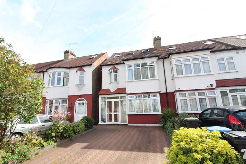 4 Bedrooms End Of Terrace House for sale in Ash Grove, Palmers Green, London, N13