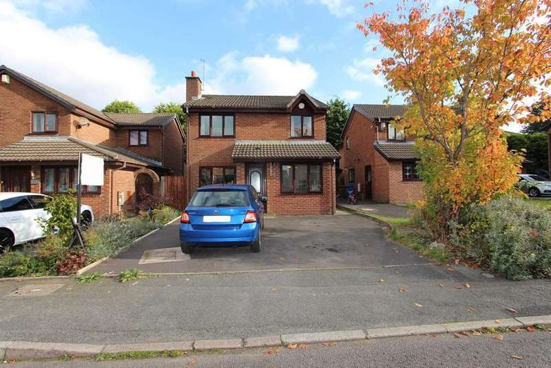 3 Bedrooms Detached House for sale in Chamber House Drive, Marland, Rochdale