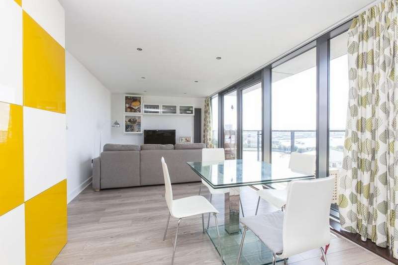 2 Bedrooms Flat for sale in Blackwall Way, London E14