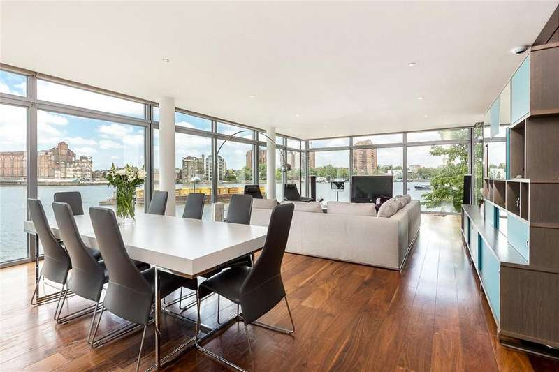 2 Bedrooms Flat for sale in Montevetro, 100 Battersea Church Road, Battersea, London, SW11