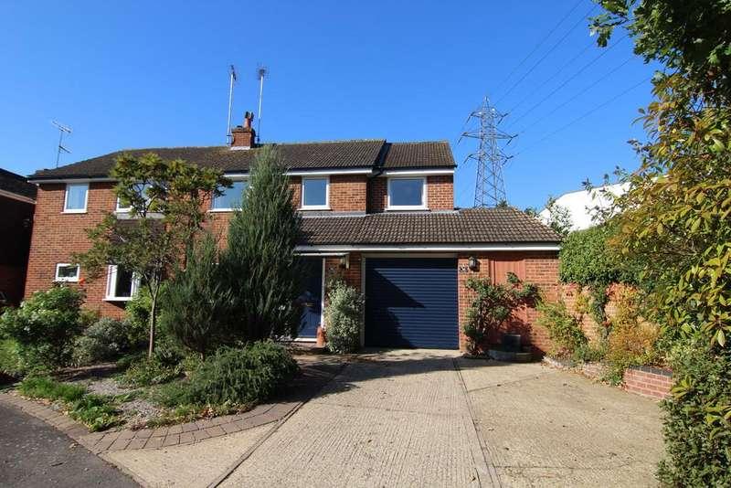 4 Bedrooms Semi Detached House for sale in Heath Close, Wokingham, Berkshire, RG41 2PG