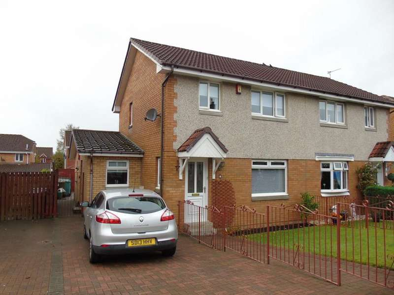 4 Bedrooms Semi Detached House for sale in Manse Street, Dundyvan, Coatbridge, North Lanarkshire, ML5