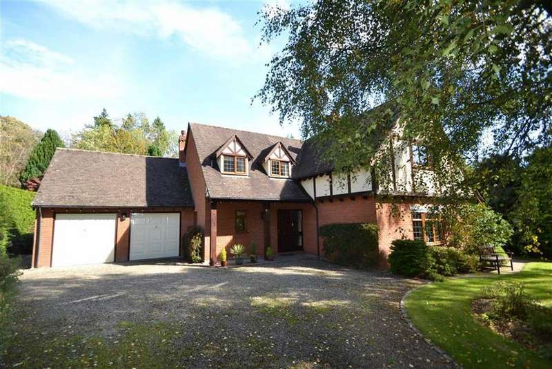 4 Bedrooms Detached House for sale in Rectory Gardens, Church Stretton, Shropshire