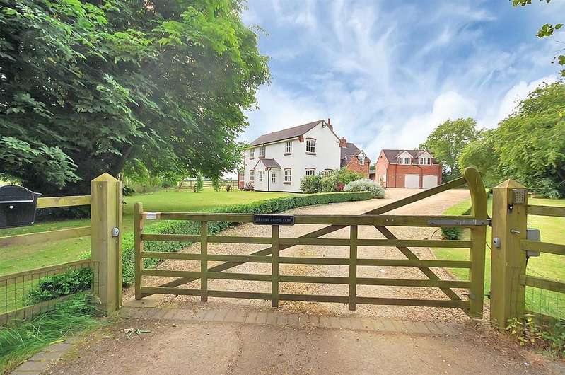4 Bedrooms Detached House for sale in Melton Spinney Road, Thorpe Arnold, Melton Mowbray