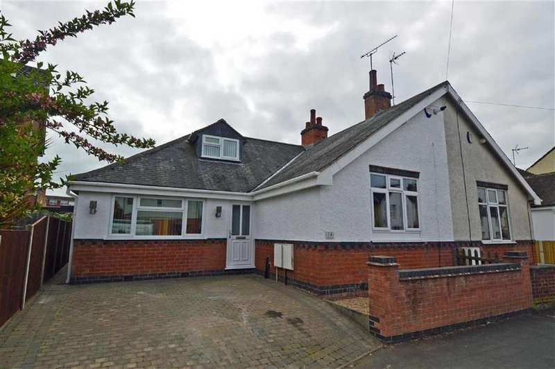 3 Bedrooms Semi Detached Bungalow for sale in Horsewell Lane, Wigston