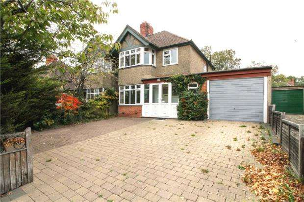 3 Bedrooms Semi Detached House for sale in Northcourt Avenue, Reading, Berkshire