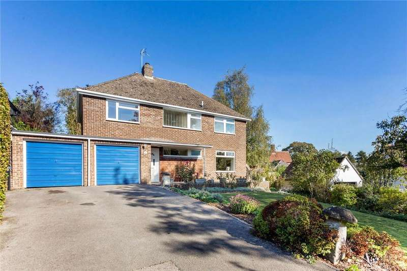 4 Bedrooms Detached House for sale in Goodworth Clatford, Andover, Hampshire, SP11