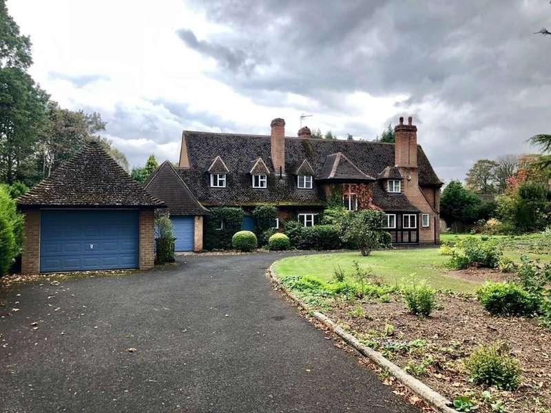 3 Bedrooms Detached House for sale in Avenue Road , Dorridge