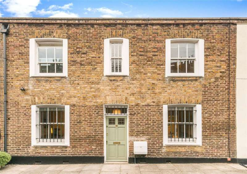 2 Bedrooms End Of Terrace House for sale in Hides Street, London