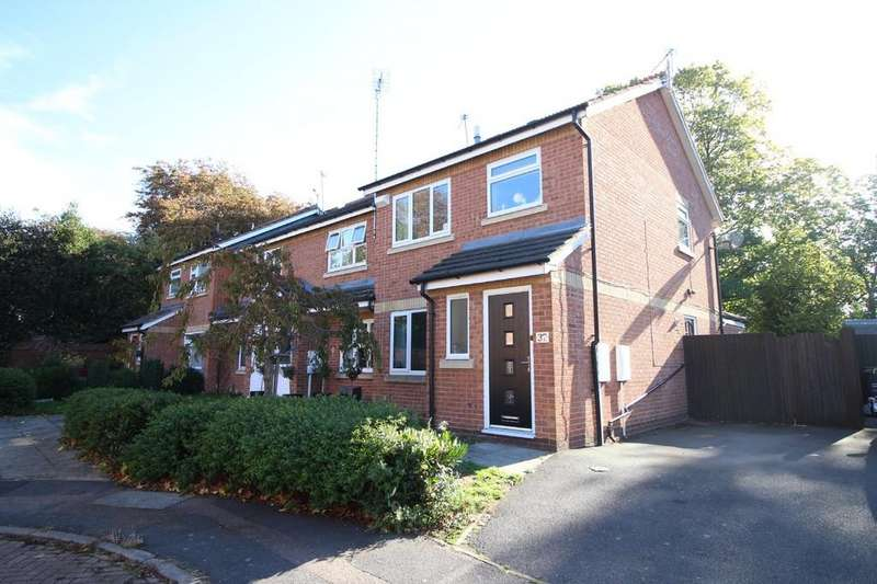 3 Bedrooms End Of Terrace House for sale in Perry Grove, Loughborough