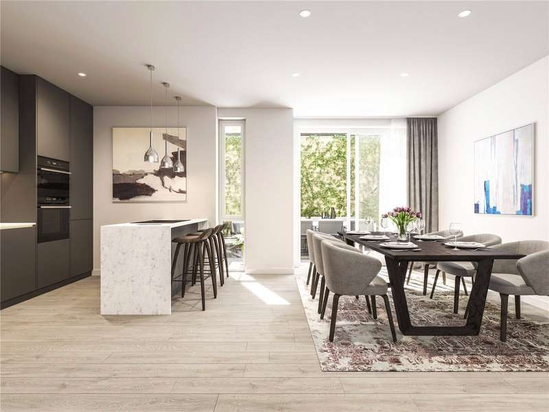3 Bedrooms Flat for sale in Dash Hoxton, 1-64 St Leonard's Court, N1