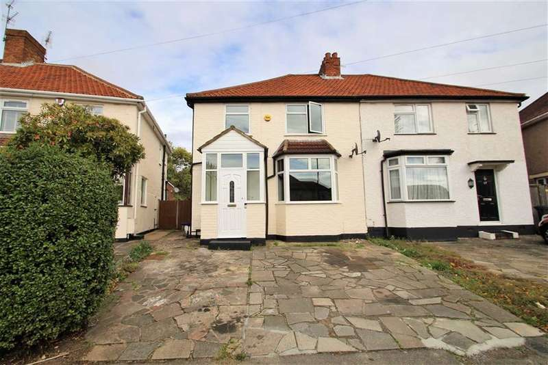 3 Bedrooms Semi Detached House for sale in Halsbury Road East, Northolt
