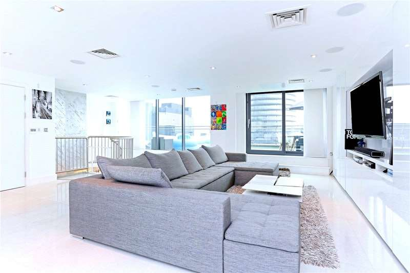 4 Bedrooms Penthouse Flat for sale in Millharbour, London, E14