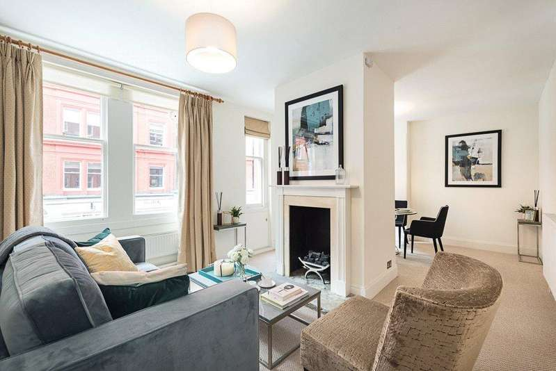 2 Bedrooms Flat for sale in Wendover Court, Chiltern Street, London, W1U