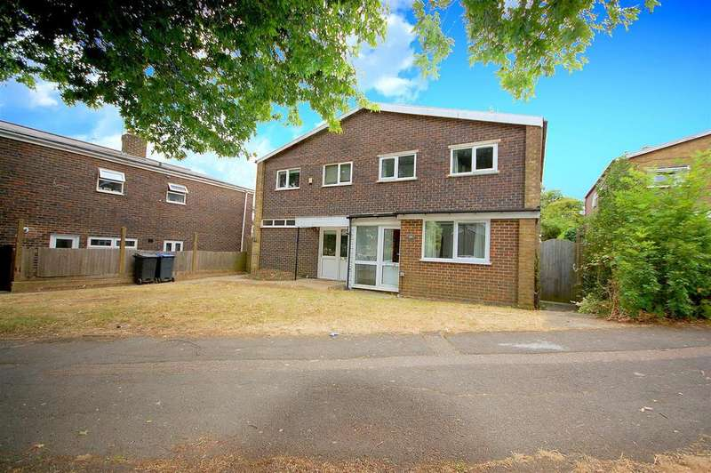 4 Bedrooms Semi Detached House for sale in Woods Avenue, Hatfield