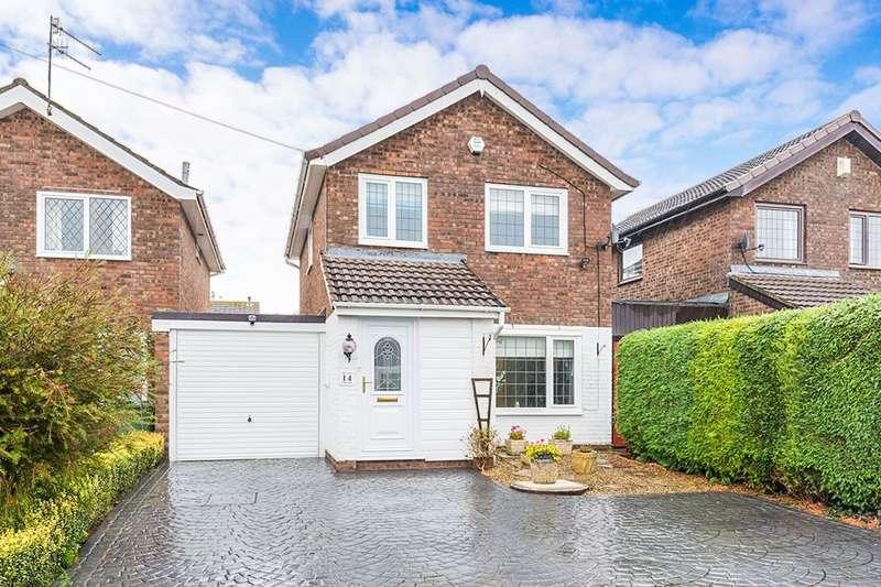 3 Bedrooms Detached House for sale in Cotswold Close, Portishead, Bristol, BS20