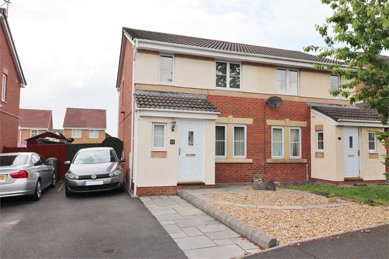 3 Bedrooms Semi Detached House for sale in CA1 3TR Valley Drive, Carleton Grange, Carlisle, Cumbria
