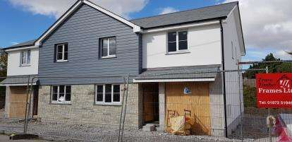 3 Bedrooms Semi Detached House for sale in Indian Queens, St Columb, Cornwall