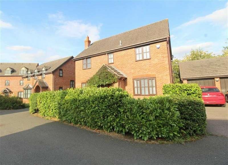 4 Bedrooms Detached House for sale in Angora Close, Shenley Brook End, Milton Keynes, MK5
