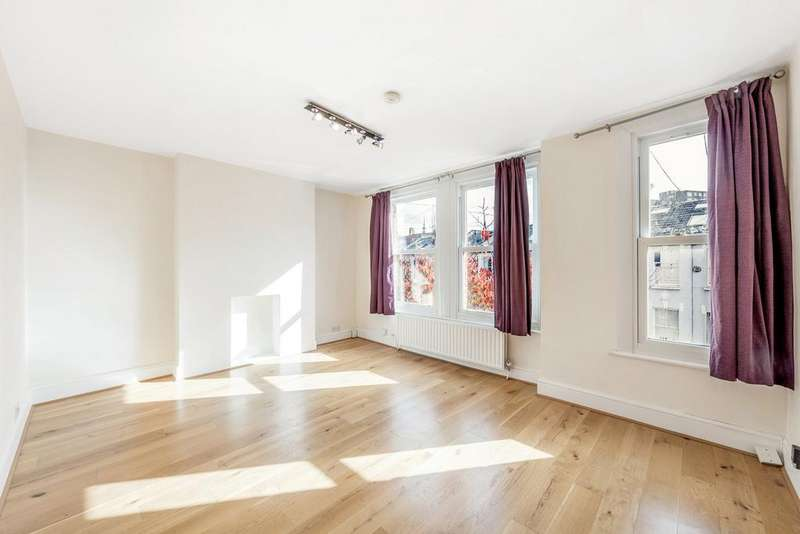 3 Bedrooms Flat for sale in Brecon Road, Hammersmith, London