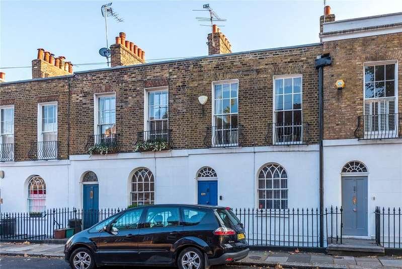 2 Bedrooms Terraced House for sale in Bewdley Street, Islington, London, N1