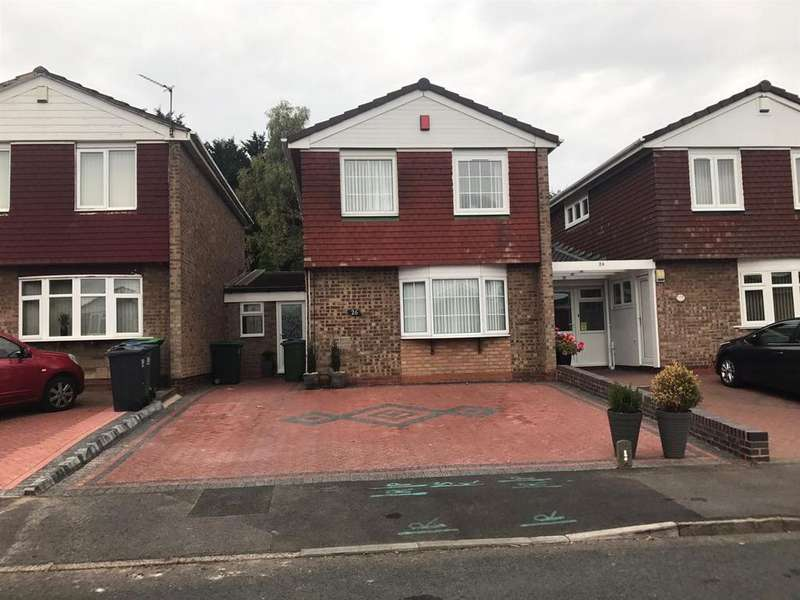 3 Bedrooms Semi Detached House for sale in Priory Close, West Bromwich, B70 6TB