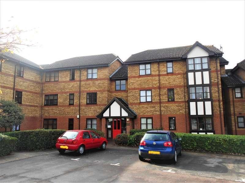 1 Bedroom Flat for sale in Redwood Grove, Bedford, Bedfordshire, MK42 9JL