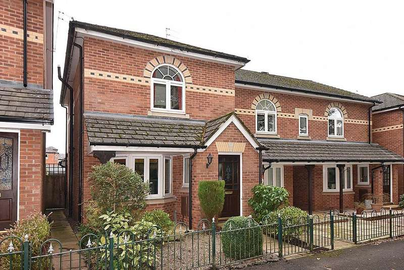 3 Bedrooms End Of Terrace House for sale in Hedingham Close, Macclesfield
