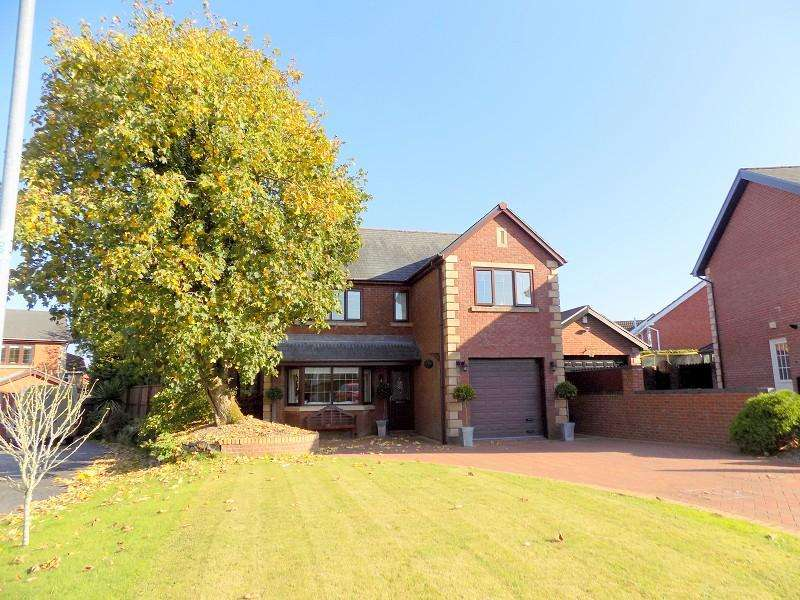 4 Bedrooms Detached House for sale in Hazel Tree Court, Bryncoch, Neath, West Glamorgan. SA10 7SZ