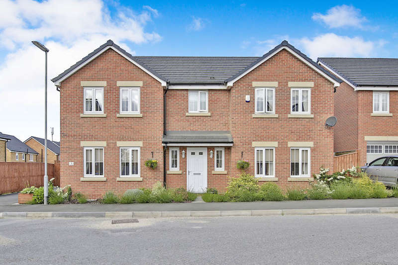5 Bedrooms Detached House for sale in Kasher Road, Willington, Crook, DL15